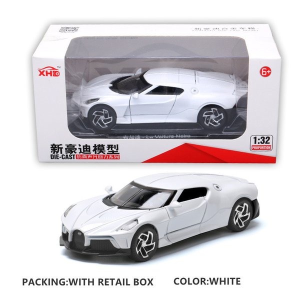 White with Box