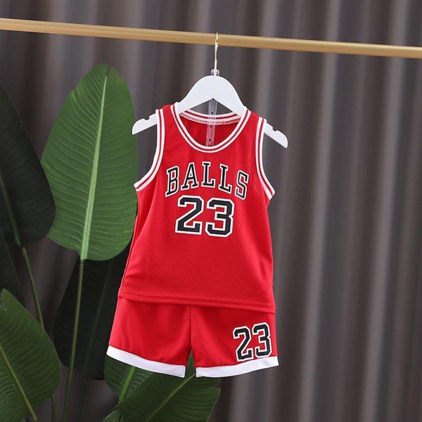 Red Gy Wege Basketball Anzug-80