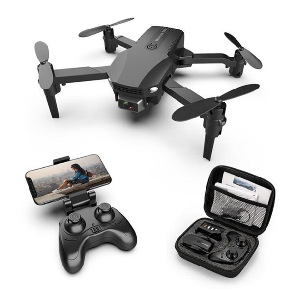 New R16 drone 4k HD dual lens mini drone WiFi 1080p real-time transmission FPV drone Dual cameras Foldable RC Quadcopter toy