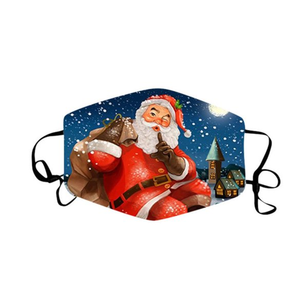 Weihnachtsmaske 07.
