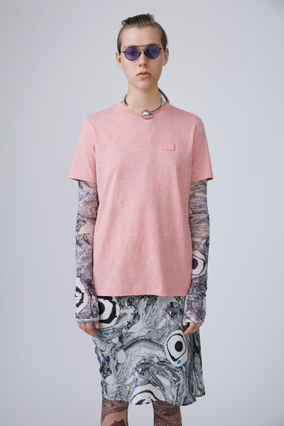 best selling Spring Summer Style New Studios AC Smile Face T shirt Northern Europe Brand Pure Colour Cotton Short Sleeve T shirts tee