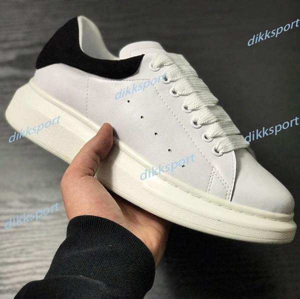 best selling Men Shoes fashion platform men women sneakers Triple Black White Rose Gold Leather Suede womens mens casual shoes