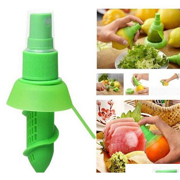 best selling Vegetable Tools Accessories Creative Lemon Sprayer Fruit Juice Citrus Lime Juicer Spritzer Gadgets Goods For The Kitchen Qhv5Q Fzuur