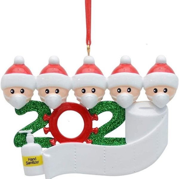 christmas party factoryejb6decoration in birthdays stock quarantine resin material gift product personalized family ornament pandem