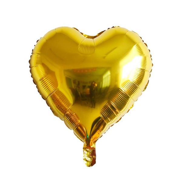 محفظة 5pcs الذهب القلب