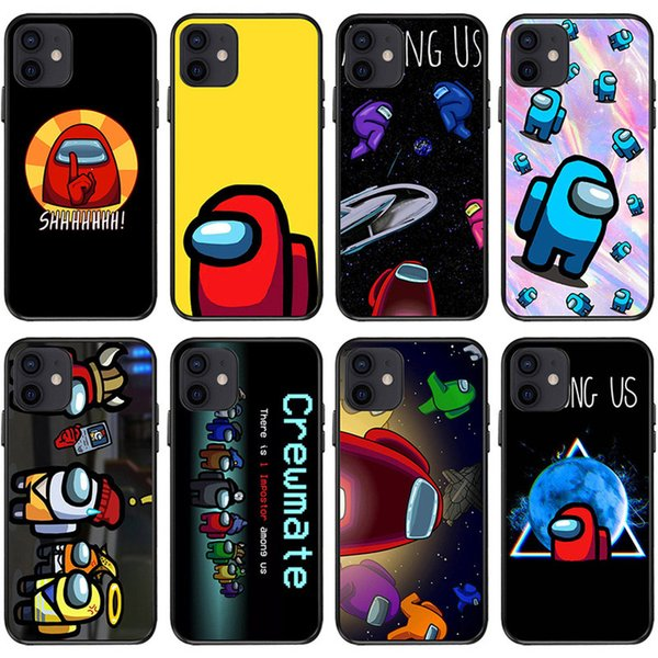 best selling Among Us Game Phone Case For iphone 12 11 Pro X XS Max Xr 8 7 6 6s Plus Clear Back Cover Wholesale