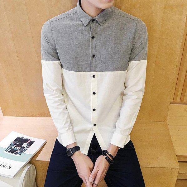 Camicia bianca di Oxford.
