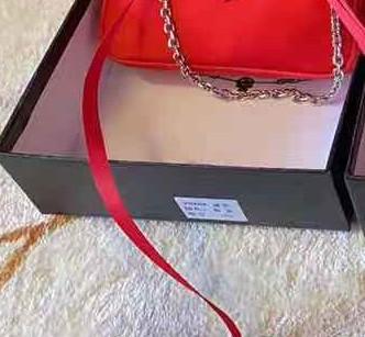 Rot-Mini-Tasche