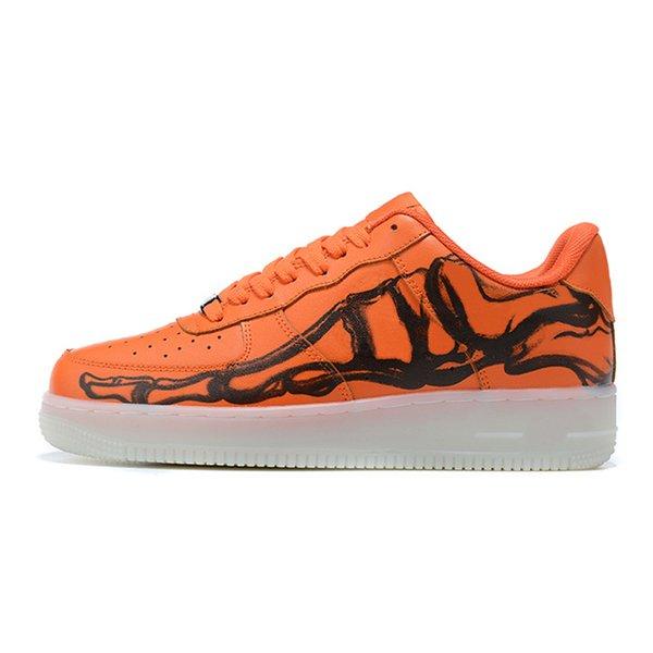 Scheletro arancione