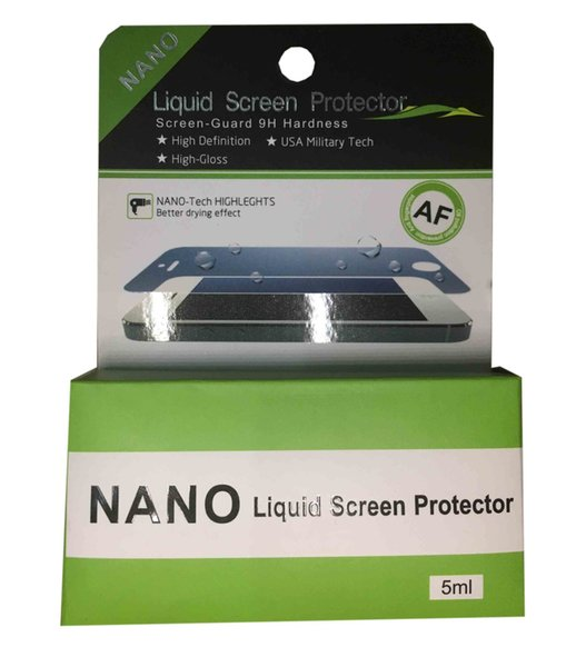 5ml-nano Liquid Technology 3D curvo Gla