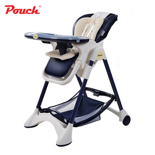 best selling Pouch New Fashional Multifunctional Portable Children Highchairs Removable Baby Feeding Chair model highchair for infant LJ201110