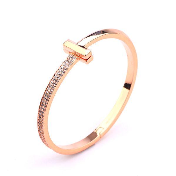 rose bracelet en or