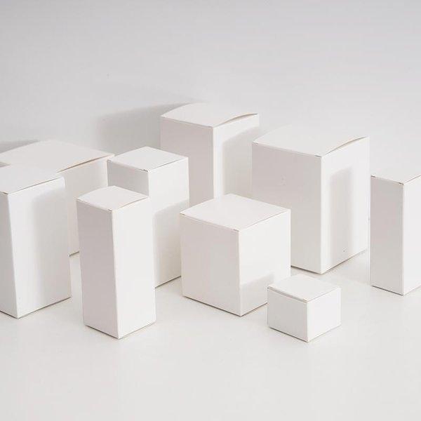 White 4x4x4cm