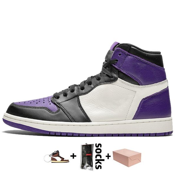 A36 Court Purple Toe 36-46