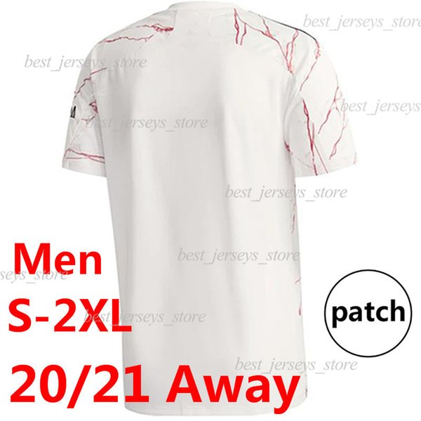 Away patch.