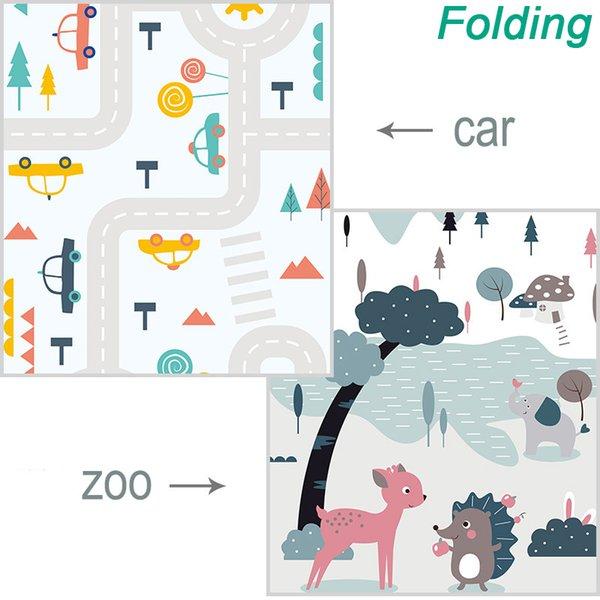 Folding Car Zoo