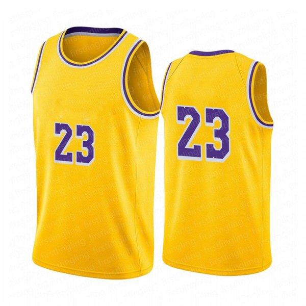 23 LBJ (nome del giocatore) Jersey