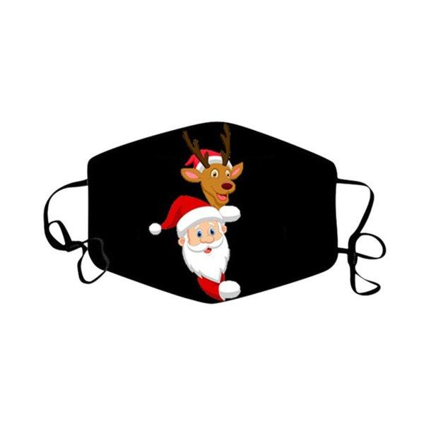 Weihnachtsmaske 08.