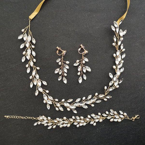 Oro 3 piezas Set