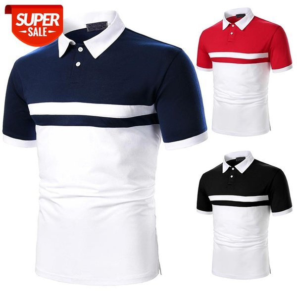 best selling Men Short Sleeve T-shirt Casual Tees Two Color Fashion Design Suitable For Daily Matching Men Top #HD2u