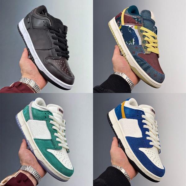 best selling Kasina X SBLOW 80s Bus Women Skateboard shoes J-Pack shadow Grey Men Shoes Civilist Black Sports Lemon Wash Low Sneakers