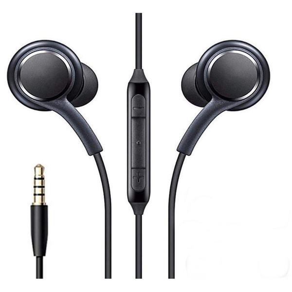 top popular S8 Earphone Headset Mic For Samsung Galaxy S8 S9 S10 Note 7 8 9 3.5mm Jack headphone Headphones EO-IG955BSEGWW Handsfree Earbuds Smart Phone 2021