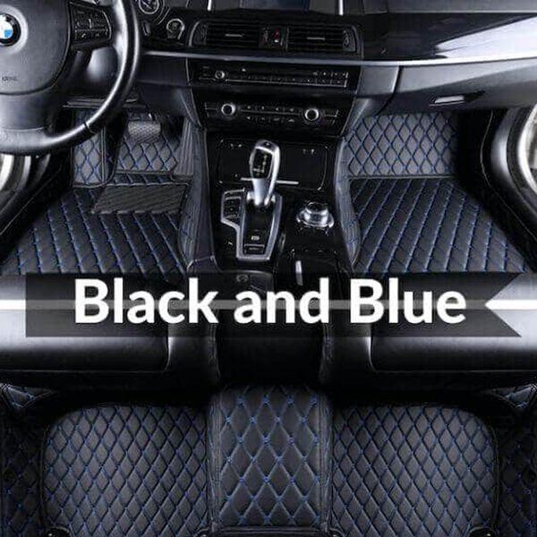 Mavi paspas ile siyah