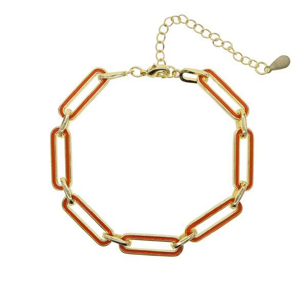 Rechteck orange-15 cm mit 4 cm erstrecken