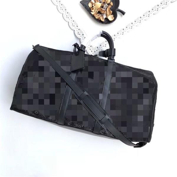 Черная прозрачная сумка