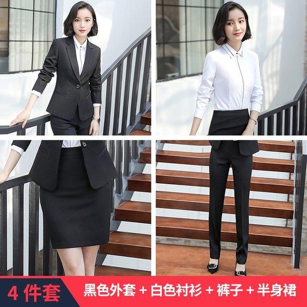 Camicia bianca cappotto nero B179 pantaloni