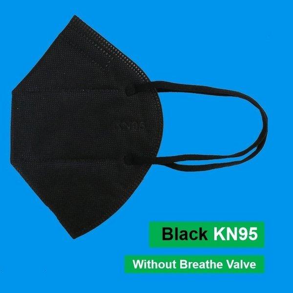 Máscara negro sin válvula