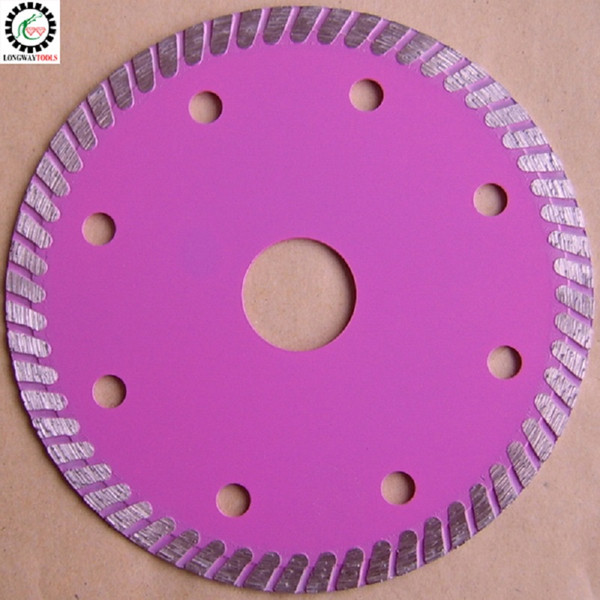 """best selling 3 PCS lot 4.5"""" turbo blade 115mm ultra thin 1.2mm thick cutting disc for ceramic tile and granite . FREE SHIPPING!"""