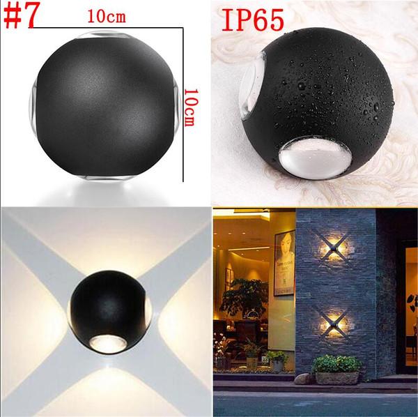# 7 12 Вт водонепроницаемая настенная лампа