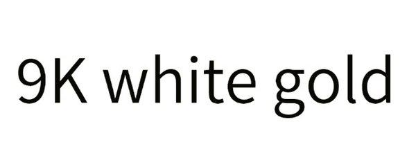 Oro blanco 9K