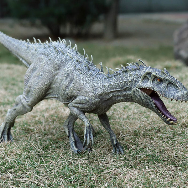 best selling Big Size Jurassic Indominus Rex Simulation Dinosaur Model Toy Animal Plastic PVC Action Figure Collection Doll Toy for children Q1123