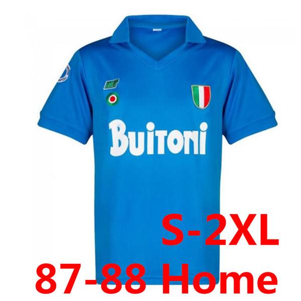 Retro 87-88 Napoli Home