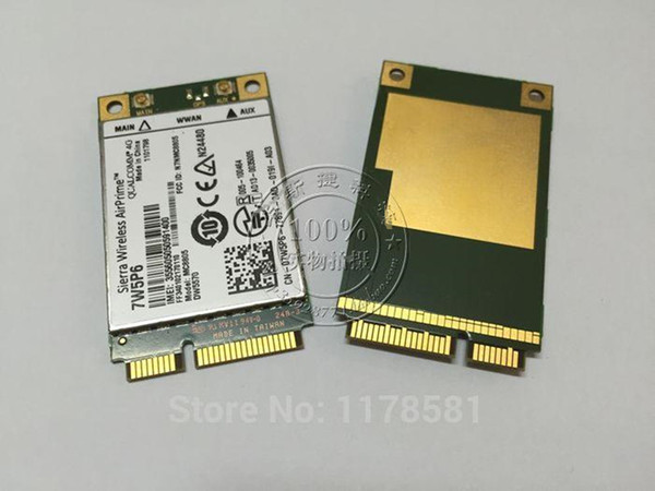 top popular Freeshipping DW5570 07W5P6 Sierra MC8805 4G HSPA+ WWAN Broadband Mobile Card for E5440 E6440 E6540 E7240 E7440 M4800 M6800 2021