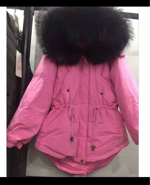 Pink with Black Fur