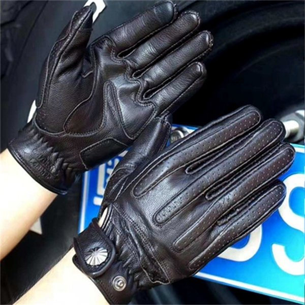 Guantes negros 529 (sin peluche) -s