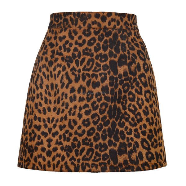 best selling Bodycon buttocks mini skirt High waist leopard skirts sexy women mini dress fashion clothes will and sandy gift