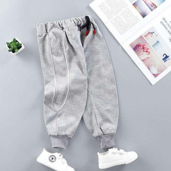 Pantalon décontracté gris clair