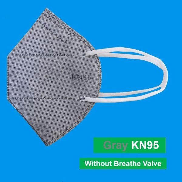 Grau-Maske ohne Ventile