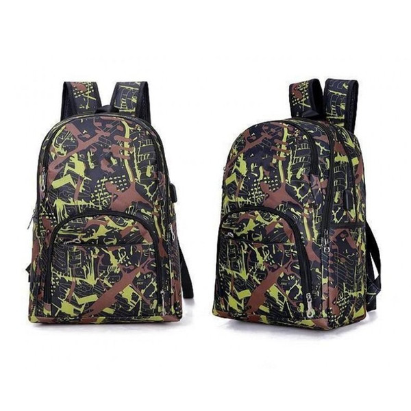 top popular 2021 Best outdoor bags camouflage travel backpack computer bag Oxford Brake chain middle school student bag many colors 2021