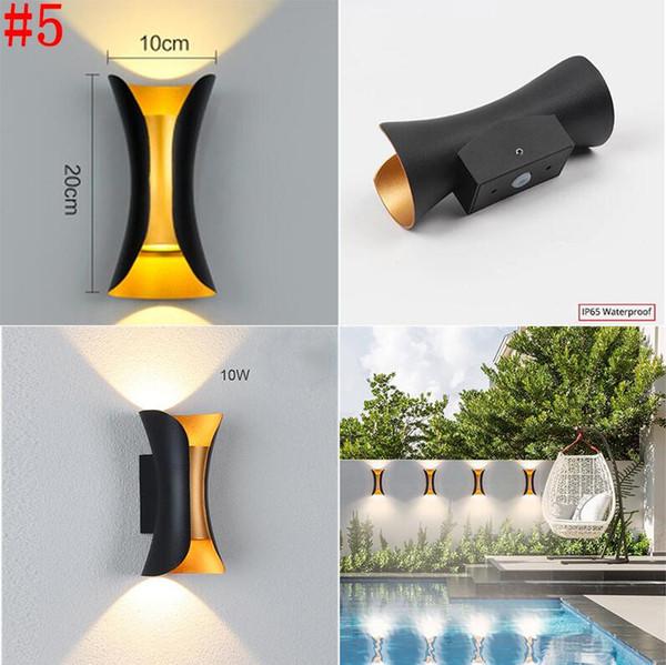 # 5 10W водонепроницаемый светильник стены