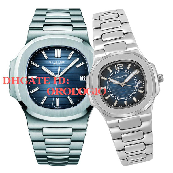 top popular 2021 U1 factory mens automatic mechanical watches silver strap blue gold watch stainless waterproof wristwatch montre de luxe lady watches 2021