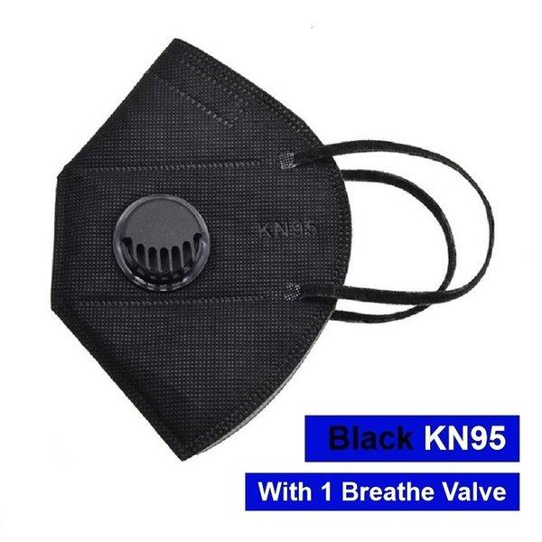 Black Mask mit 1 Ventil
