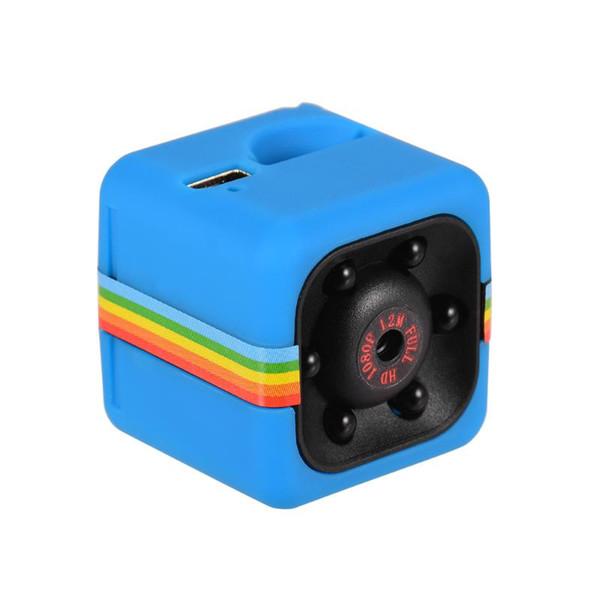 Caméra bleu Chine
