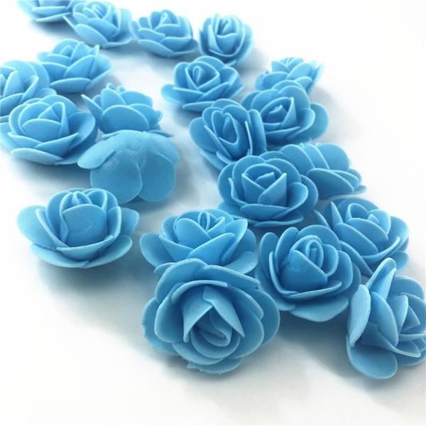 144pcs azul