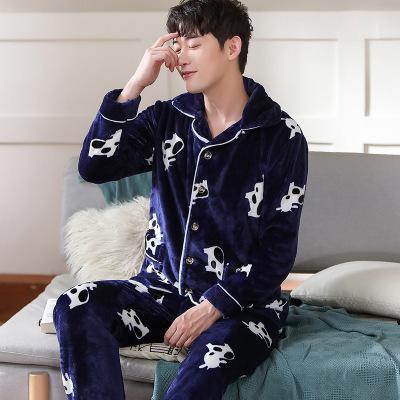 Hombres de vaca pijama
