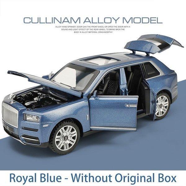 Bleu royal sans boîte